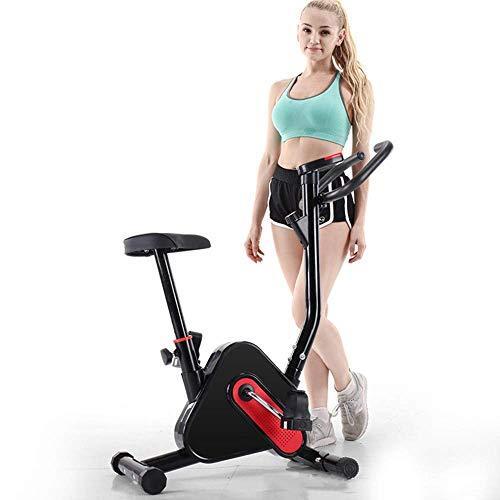 Bicicleta de ejercicio en casa Pantalla LED máquina de ejercicio elíptica, control magnético silencioso bicicleta de spinning bicicleta de ejercicio deportiva de interior fitness eFitness motion