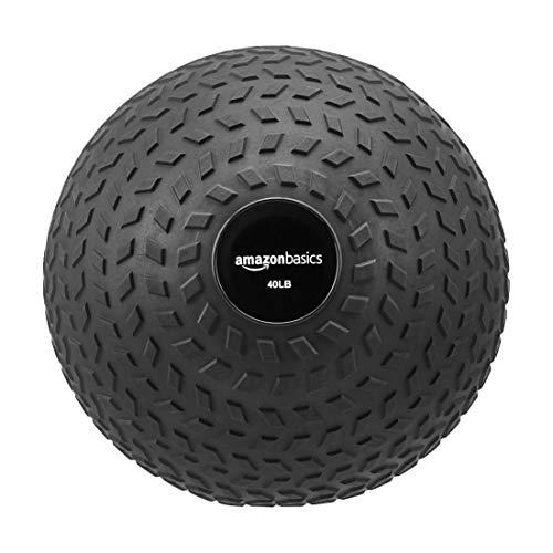 Amazon Basics Training Exercise Slam Ball - Arrow Grip, 40-Pound
