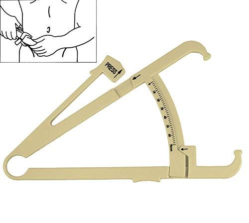 Messlatte für Körperfett, manuell, Messschieber für Beine, Taille, Arme, Oberschenkel, Bauch