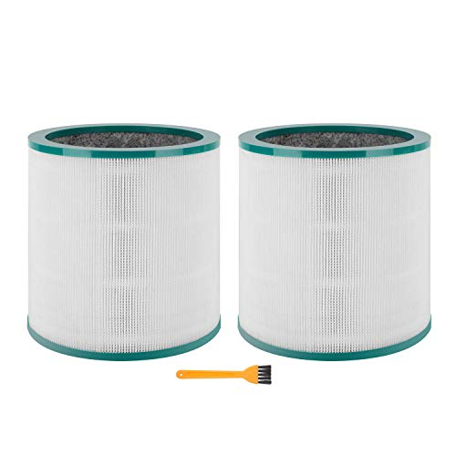 Colorfullife 2 Pack TP02, TP03 Replacement Air Purifier Filter for Dyson Tower Purifier Pure Cool Link TP02, TP03, Compare to Part 968126-03