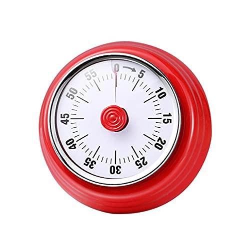 Timer da cucina per conto alla rovescia con timer meccanico con magnete senza batteria gestore del tempo, per cucinare fitness apprendimento