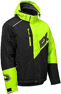 Castle X Phase G2 Men's Snowmobile Jacket - Hi-Vis/Black (XLG)