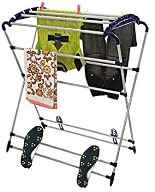 PARASNATH Prime Mini Robot Cloth Drying Stand, 5.5 Inch , Blue