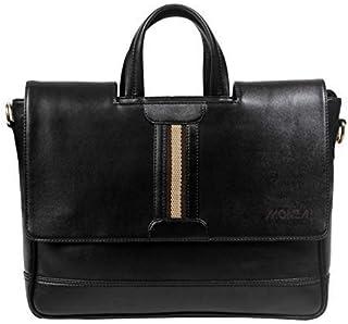 Monza Italy Laptop Cum Office Bag/Black Color, Documents Books/Notebook/iPad/Unisex Bag