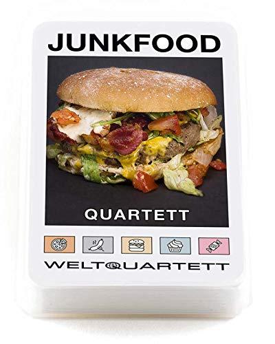 familie von quast - Quartett Spiel Junkfood - das ultimative Kartenspiel mit 32 Blatt