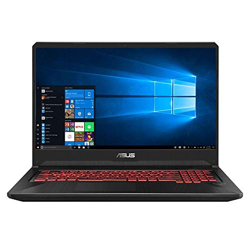 ASUS TUF Gaming FX505DY-WH51 15.6' Laptop Computer - Black AMD Ryzen 5-3550H Processor 2.1GHz; AMD Radeon RX560X 4GB GDDR5; 8GB DDR4-2400 RAM; 256GB Solid State Drive (Renewed)