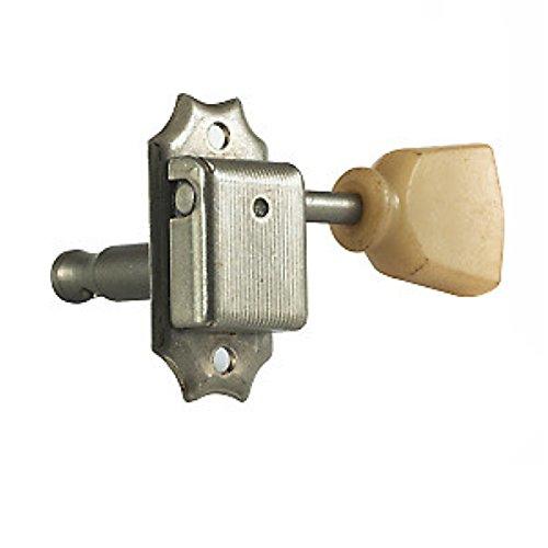 CLAVIJERO GUITARRA ELECTRICA/ACUSTICA - Gotoh (SD90 SL) (Niquelado) 3+3/Tipo Kluson (Palomilla Pasta)