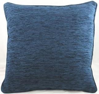 Homestreet Evans Lichfield Savannah Coussin en Tissu Chenille–Bleu Nuit Coussins 55,9x 55,9cm de qualité