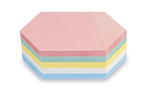 magnetoplan 111152210 Moderationskarten Rhombus, sortiert