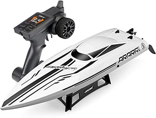 Velocità barca da corsa, dispositivi di moto d'acqua a distanza e app-controllata a distanza, versione senza spazzole del motoscafo prolungato