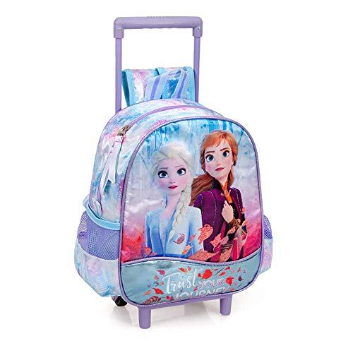 Zaino Asilo con Trolley Frozen II 2 Ruote Manico ALLUNGABILE-51416C
