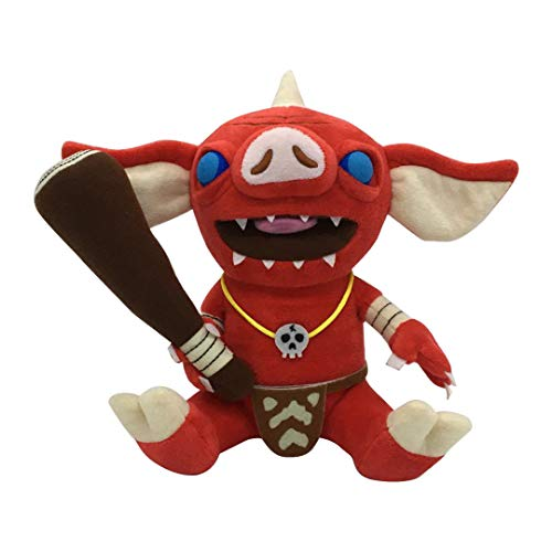 Youhj Animal Bokoblin Zelda Breath of The Wild Peluches 21Cm, Suave Anime Muñeca Rellena Juguetes