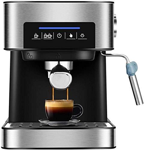 ShiSyan Coffee Maszyna Ekspres do kawy,Elektryczny 20bar Włoski ekspres do kawy,Ekspres do kawy Americano Espresso,Fancy Milk Foam Maker,Prezenty Kompatybilne z kochankami do kawy,220 V