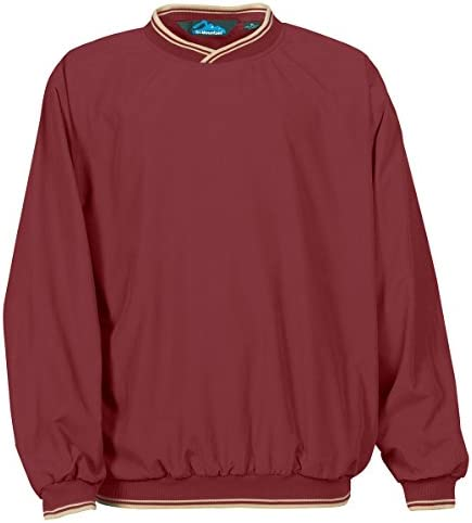 Tri Mountain All Season Microfiber Windshirt 2560 Atlantic MAROON KHAKI XXX Large product image