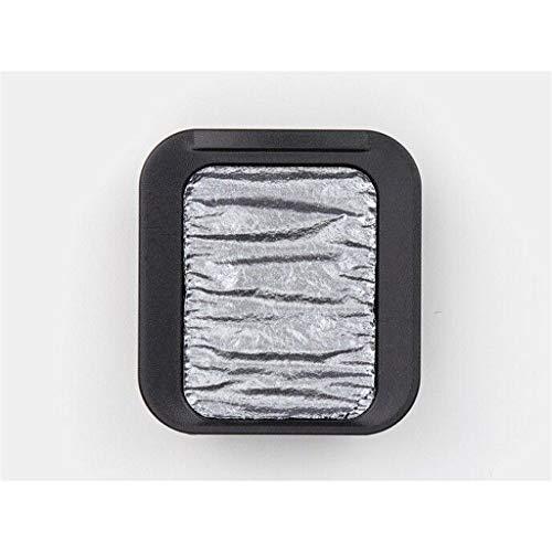 Finetec Pearlescent Watercolor Pan Refill, Metallic Platinum (F2414)