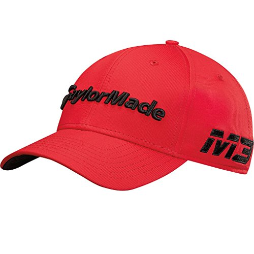 Taylormade Tm18 Tour Radar Berretto da Baseball, Rosso (Rojo N6415301), (Taglia Produttore: Unica) Uomo