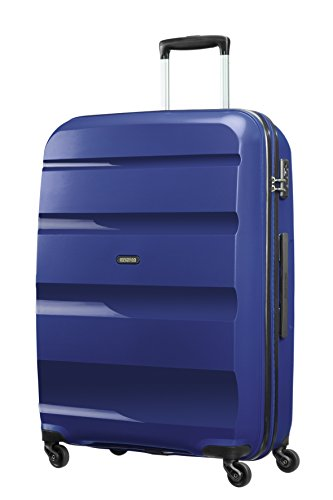 American Tourister Bon Air Spinner Valigia 75 Cm, 91 L, Blu (Midnight Navy)