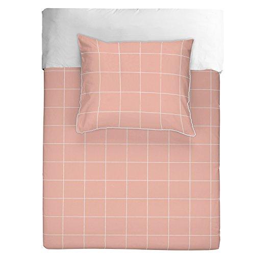 Walra Tweezijdig beddengoed Square Feet roze