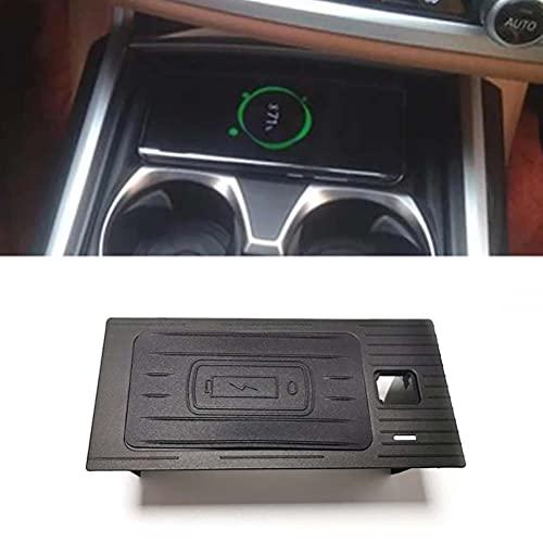 Cargador de teléfono de carga inalámbrica QI para coche de 15 W, soporte de carga de placa de carga rápida para BMW 7 Series G11 G12 2017 2018 2019