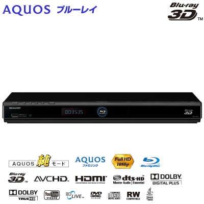 シャープ AQUOS ブルーレイディスクプレーヤー 再生専用機 BD-HP35