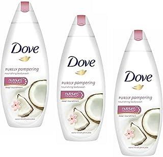 DOVE Coconut Milk With Jasmine Petals Body Wash 250ML-3Pcs QT58(3 x 250 ml)