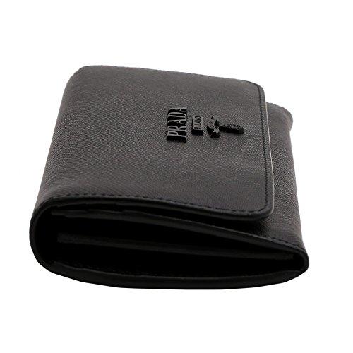 プラダ(PRADA)長財布1MH1322EBWF0002サフィアーノシャインブラック黒[並行輸入品]