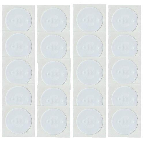 20 NFC Tags Sticker NTAG213 Circus rund 22mm 144Byte