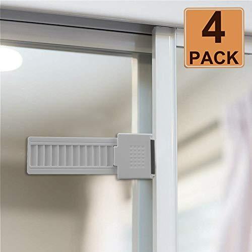 Ofun Sliding Glass Window Locks Safety Sliding Door Locks