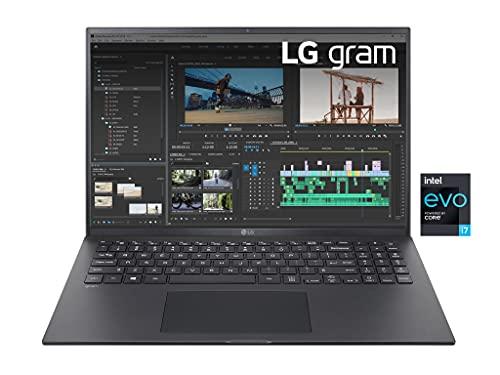 LG Gram 16Z90P, Display 16' Quad HD 16:10 IPS, 2560x1600, Intel Core i7-1165G7, RAM 16GB DDR4, SSD 512GB, Intel Iris Xe, Batteria 80Wh, Thunderbolt4, Win10 PRO, Tastiera Italiana, Peso 1190g, Black