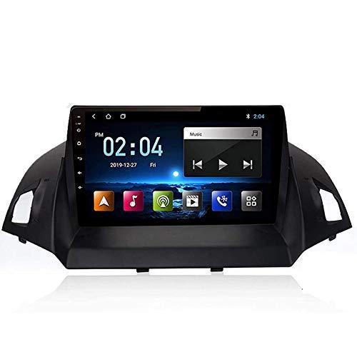 WHL.HH Zum Ford Kuga Flucht 2013-2016 Android Wagen Radio Doppelt Das Gleiche Gilt Stereo Radio Geographisches Positionierungs System Navigation 9 Zoll Berühren Bildschirm,S1