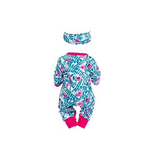 Aiyrchin Bambino Zipper Abbigliamento Madagascar Rosy Pervinca Bambino del Modello Maniche Lunghe Outfits Tute con Fasce Multi Funzione Accessoria per Bambini Primi Formazione Gioca