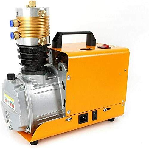 Bomba de aire de alta presión de 30 MPa, bomba eléctrica de alta presión inflable PCP, compresor de aire de 4500 psi, enchufe europeo