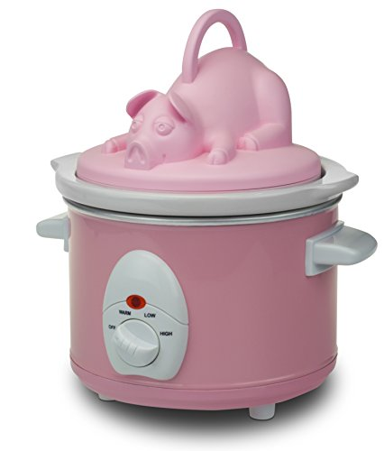 Smart Planet bnb-1pp Speck Nation Pulled Pork Kocher, Pink