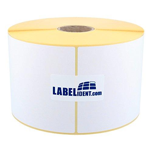 Labelident Versandetiketten DHL, DPD, UPS - 102 x 152 mm - 400 BPA-freie Thermo Etiketten Eco auf 1 Rolle(n), 1,57 Zoll Kern, Standard- und Industriedrucker, Thermodirekt permanent, Trägerperforation