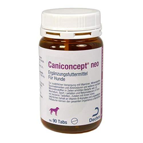 Dechra - CaniConcept neo Ergänzungsfutter für Hunde 90 Tabletten, 1er Pack (1 x 0.22 kilograms)