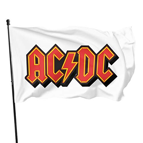 Shenhui Casual ACDC Back In Black Fahne 3x5 Ft