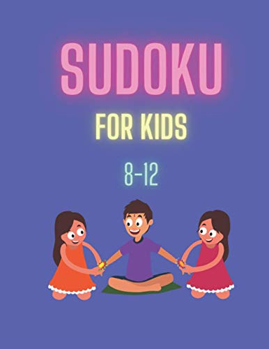 Sudoku Book For Kids 8-12: 75 Puzzles: 5 Entry Level.