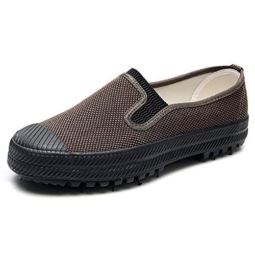 Stylein Men's Minimalist Cross Training Shoes Camo Non Slip Camping Shoes