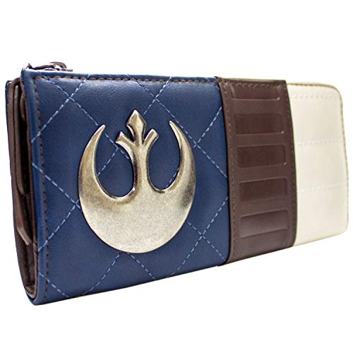 Cartera de Star Wars Capitán Han Solo Sinvergüenza Azul