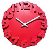Blingpony Orologio da parete semplice con suono silenzioso e senza ticchettio, 10 pollici serie Farmhouse, finitura zincata, orologio da parete digitale, facile da leggere per casa/ufficio,