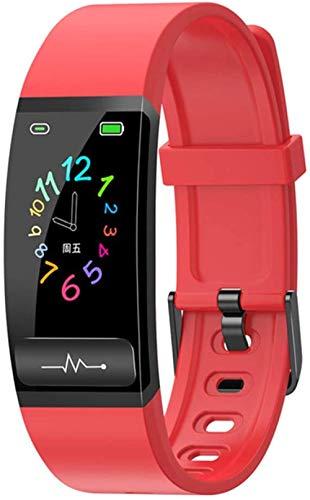 Adecuado para Android IOS reloj inteligente hombres S y mujeres S presión arterial fitness pulsera inteligente monitor de ritmo cardíaco impermeable seguimiento de actividad D