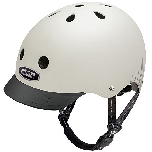 Nutcase Street Silver Wavelength Matte MIPS Multisport Helm, Größe:M (56-60 cm)