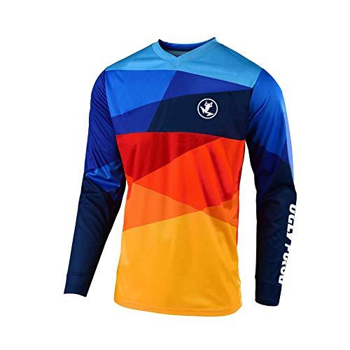 UGLY FROG 2021, abbigliamento da ciclismo da uomo, per mountain bike, Downhill Freeride, BMX, maglietta da motocross, maniche lunghe, per MTB/Downhill