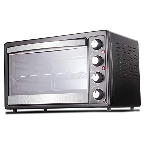 Toaster Oven STBD-Cuiseur à Vapeur De Cuisine Smart Home, Fourchette Tournante, RéFrigéRateur Et PoignéE, 35l, Noir