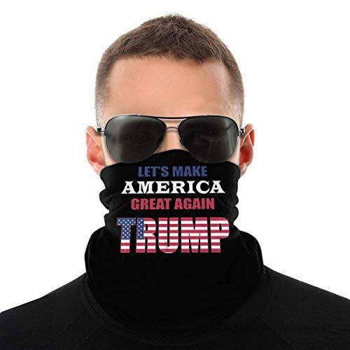 N/W Let'S Make America Great Again - Bufanda a prueba de polvo para exteriores