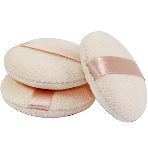Joly Powder Puff for Makeup Face Powder (3 Pieces)