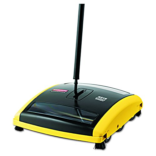 Purchase Rubbermaid Commercial 421588BLA Brushless Mechanical Sweeper, 44 Handle, Black/Yellow