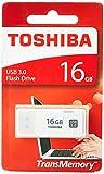 Toshiba TransMemory U301 - Memoria USB de 16 GB, color blanco
