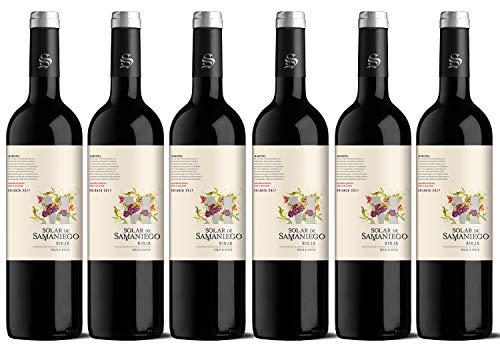 """Vino Tinto Vegano Solar de Samaniego Crianza 2017, D.O.Ca. Rioja Alavesa. Ed. Palabras Recuperadas letra """"M"""" de Marceño. Crianza en barrica de roble. Caja de 6 botellas x 75cl"""