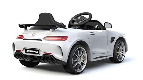 RC Kinderauto kaufen Kinderauto Bild 1: Shov Mercedes Benz GTR AMG Kinderauto Elektroauto Kinderfahrzeug 12V (Weiss)*
